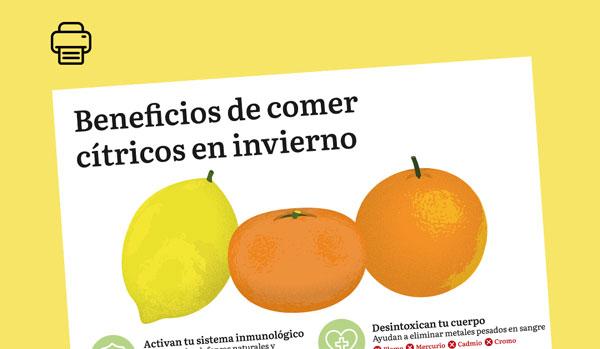 Cítricos, la fruta del invierno